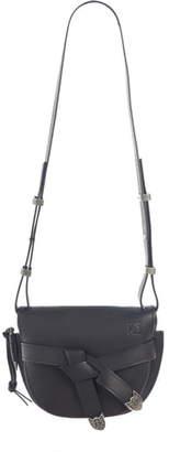 Loewe Small Gate Western Calfskin Leather Crossbody Bag