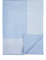 Barneys New York Cashmere Receiving Blanket-BLUE