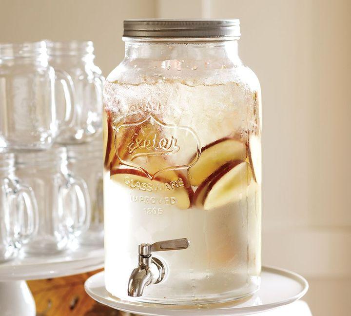 Pottery Barn Mason Jar Drink Dispenser