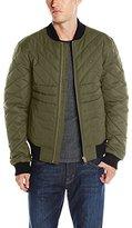 Tommy Hilfiger Men's Quilted Nylon Bomber Jacket