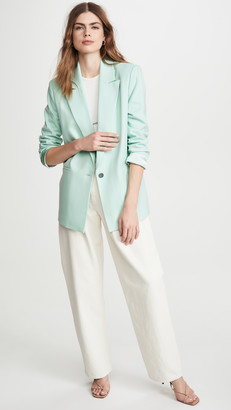 Alice + Olivia Denny Notch Collar Blazer