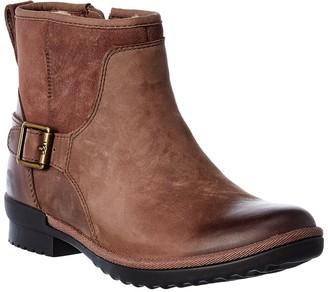 UGG Selima Waterproof Leather & Suede Bootie