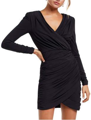 Forever New Sharni Draped Mini Dress
