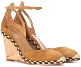 Aquazzura Cape Town 90 suede wedges