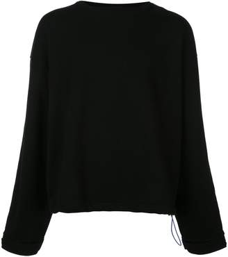 Unravel Project crew-neck sweatshirt