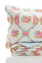 Melange Home Cottage Rose Cotton Quilt Set - Multi