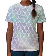 BANG TIDY CLOTHING Kids Graphic Tee Youth T Shirt Fish Mermaid Scales Clothes for Girls
