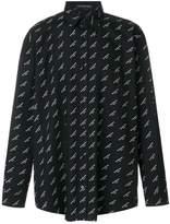 Balenciaga Bal Normal Fit Shirt