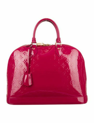 Louis Vuitton Vernis Alma GM Fuchsia