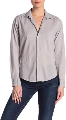 Frank And Eileen Barry Long Sleeve Woven Button Front Shirt
