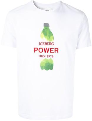 Iceberg logo T-shirt