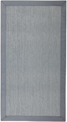 Unnatural Flooring Savannah Rug, Steel, L240 x W170cm