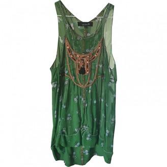 Isabel Marant Green Silk Top for Women