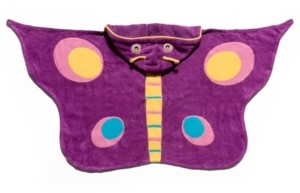 Kidorable Big Girl Butterfly Towel