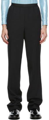 Raf Simons Black Elastic Trousers