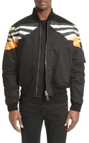 Givenchy Men's Wing Print Bomber Jacket