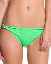 Shoshanna Solid Neon Green Brief Bottom