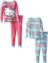 Hello Kitty Little Girls' 2 For 1 Cotton Set