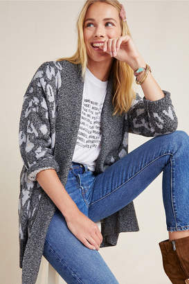 Cupcakes And Cashmere Molly Leopard Cardigan