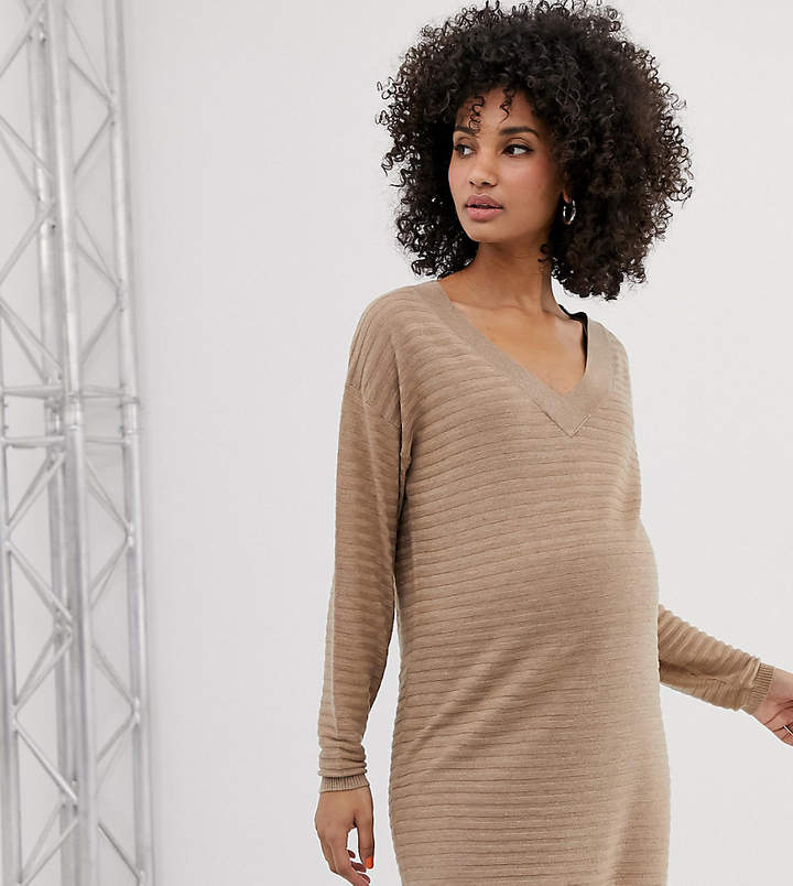a0eaad573ea Maternity Sweater Dress - ShopStyle