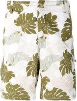 Ermanno Scervino palm print pocket shorts