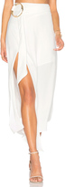 Shona Joy Voltaire Rings Asymmetrical Skirt