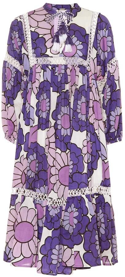 Dodo Bar Or Floral cotton dress