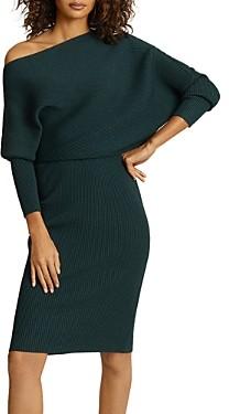 Reiss Lara Popover Sweater Dress