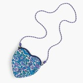 J.Crew Girls' heart bag in Liberty® floral