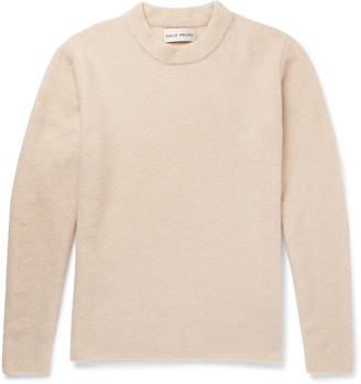 Salle Privée Aren Cashmere And Silk-Blend Boucle Sweater