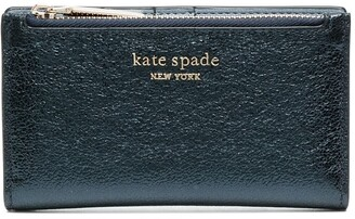Kate Spade Metallic Effect Continental Wallet