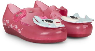 Mini Melissa Baby's, Little Girl's, & Girl's Shark Resin Ballet Flats