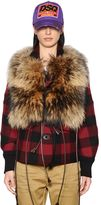 DSQUARED2 Fur & Leather Vest