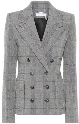 Chloé Checked wool blazer