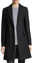 Rag & Bone Duchess One-Button Tailored 3-Pocket Coat