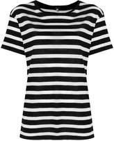 R 13 horizontal stripe T-shirt