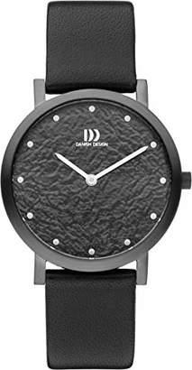 Danish Designs Unisex-Adult Analogue Quartz Watch with Leather Strap DZ120742