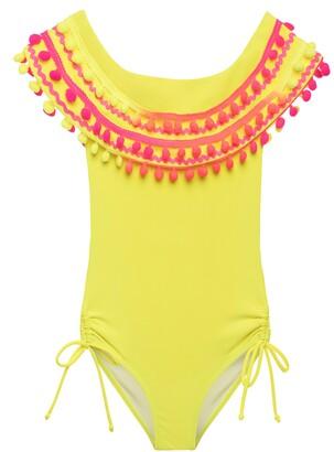 Stella Cove Neon Pompom Swimsuit