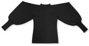 INC International Concepts Inc Cold Shoulder Sweater, Created for Macy's