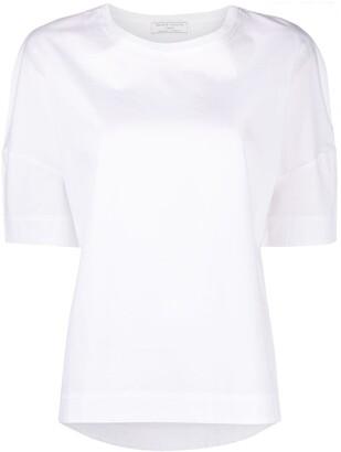 Societe Anonyme boxy ribbed collar T-shirt