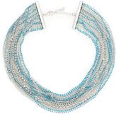 ABS by Allen Schwartz Pop Of Color Multi-Strand Necklace