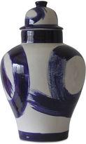 Jana Bek 18 Brushstroke Ginger Jar, Navy