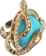 Roberto Cavalli Serpent Turquoise ring