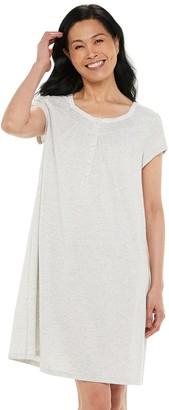 Croft & Barrow Women's Pintuck Nightgown