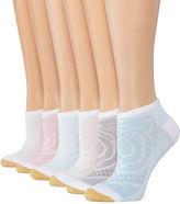 Gold Toe Goldtoe 6pk Diamond No Show Socks