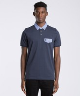 Luke 1977 View Contrast Collar Polo Shirt