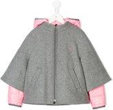 Fay Kids layered hooded coat