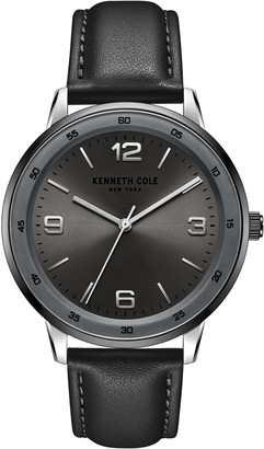Kenneth Cole New York Men's Classic Black Strap Watch