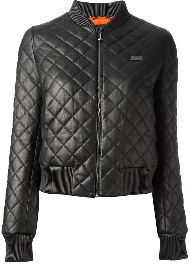 Philipp Plein quilted jacket