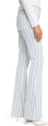 Frame Denim Le High Flare Surfer Stripe Jeans